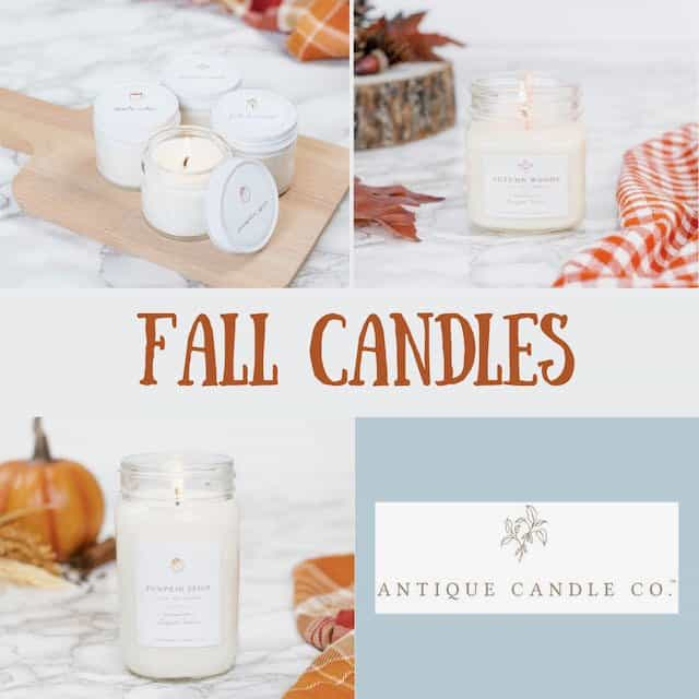 Fall Antique Candles
