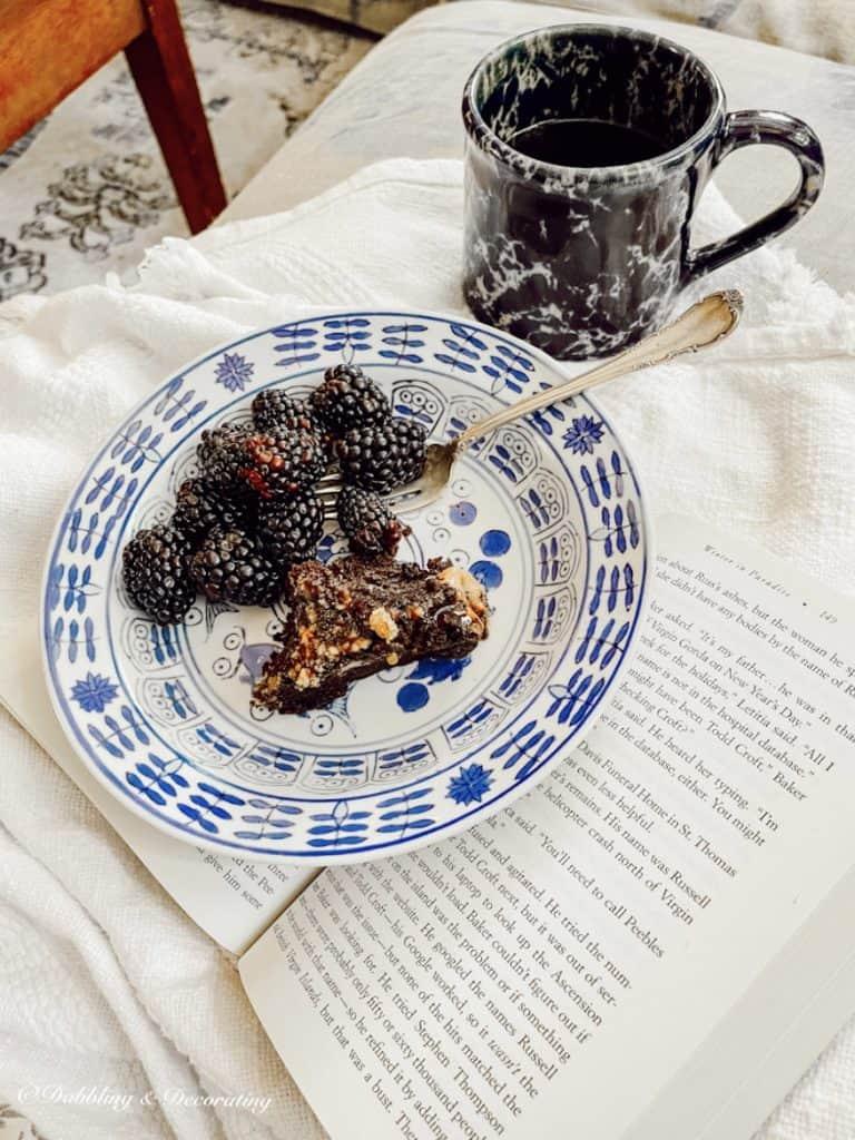 Dessert, Coffee, Book