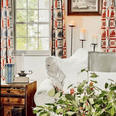 Leaning into Grandmillennial Style with Fabulous Drapes