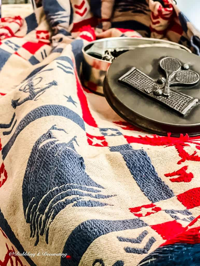 Sewing Kit and grandmillennial Drape