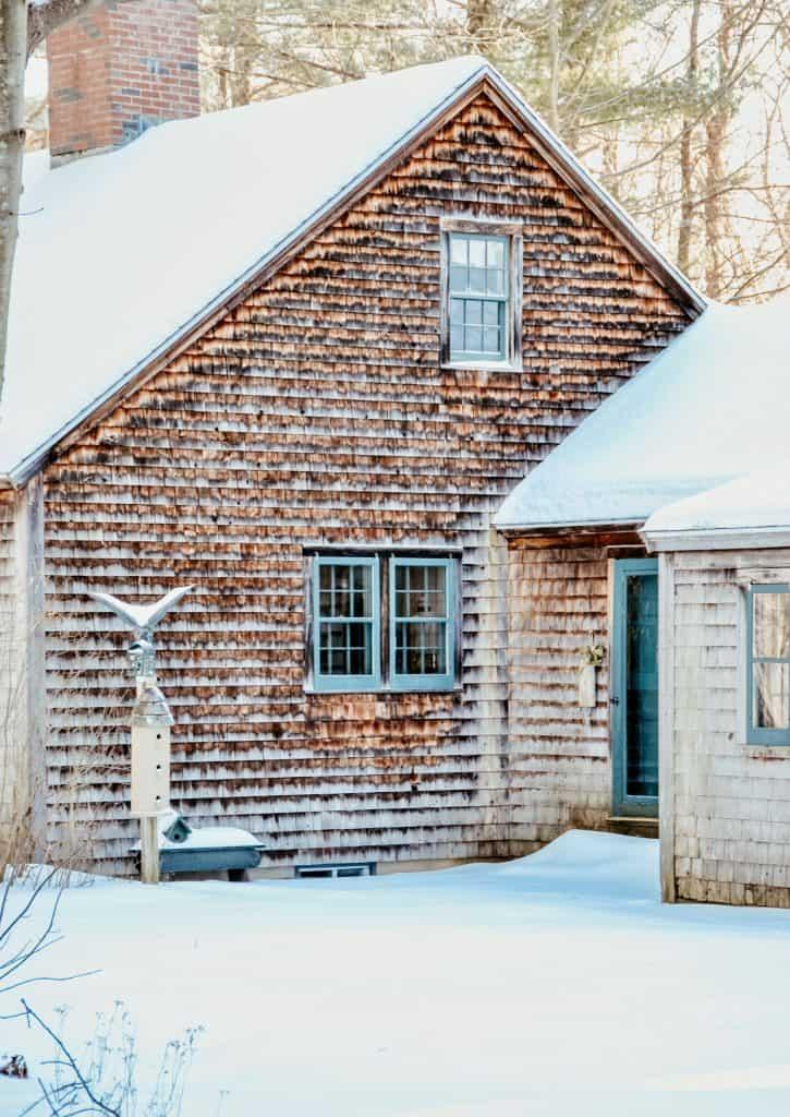 Cedar Shake Maine Home